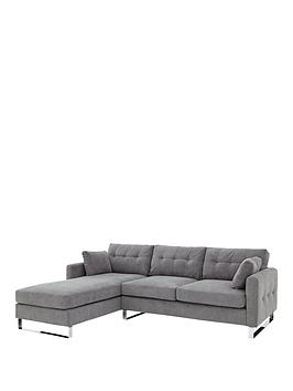 faro-3-seater-left-hand-fabric-corner-chaise-sofa