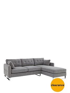 faro-3-seaternbspright-hand-fabric-chaise-sofa