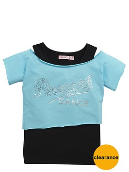 pineapple-older-girls-double-layer-tee