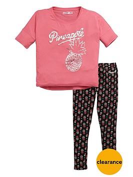 pineapple-pineapple-older-girls-tee-and-legging-set