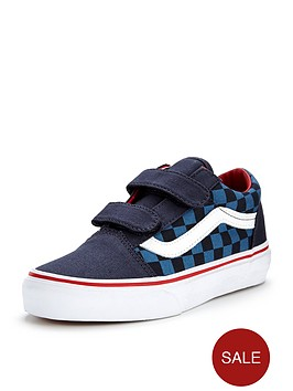 vans-old-skool-v-checkerboard-children