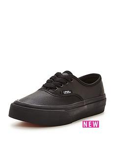 vans-vans-authentic-junior-leather-children