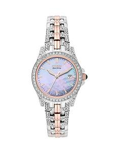 citizen-eco-drive-silhouette-mother-of-pearl-dial-two-tone-ladies-watch