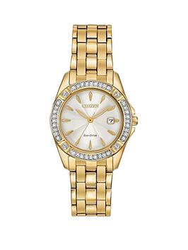 citizen-citizen-eco-drive-silhouette-crystal-white-dial-gold-tone-stainless-steel-bracelet-ladies-watch