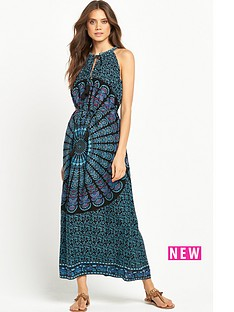 v-by-very-printed-halter-neck-beach-dressnbsp
