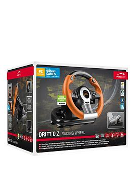 speedlink-speedlink-drift-oz-pc-gaming-racing-wheel-black-orange