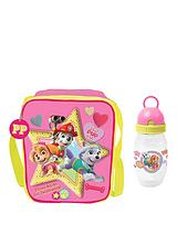 Paw Patrol Lunch Bag and Bottle - Pink