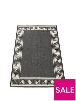 greek-key-flatweave-rug