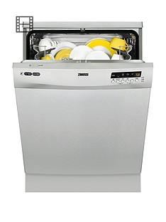 Zanussi ZDF26011XA 13-Place Dishwasher - Stainless Steel