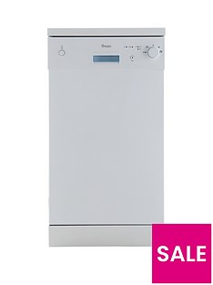 Swan SDW2011W 10-Place Slimline Dishwasher - White