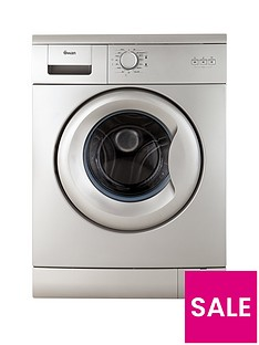 Swan SW2012S 5kg Load, 1000 Spin Washing Machine - Silver