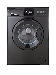 Swan SW2023B 6kg Load, 1200 Spin Washing Machine - Black