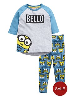 minions-girls-bellonbsptop-and-leggings-set