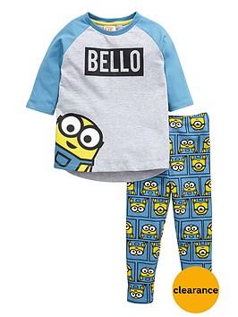 minions-girls-bellonbsptop-and-leggings-set