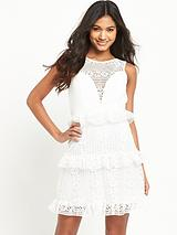Frill Lace Dress