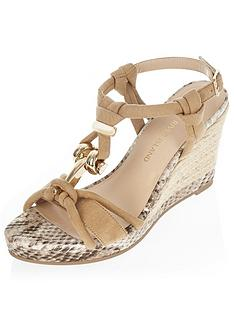 river-island-knot-front-snake-print-wedge-sandal