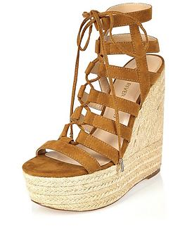 river-island-caged-high-wedge