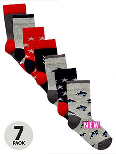mini-v-by-very-boys-hungry-shark-socks-7-pack