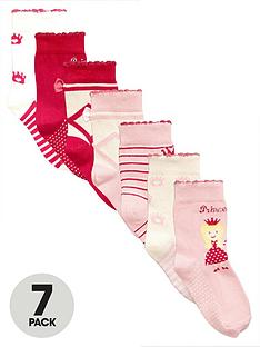 mini-v-by-very-girls-princess-ballet-socks-7-pack