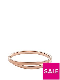 skagen-elin-rose-gold-plated-hinged-bangle
