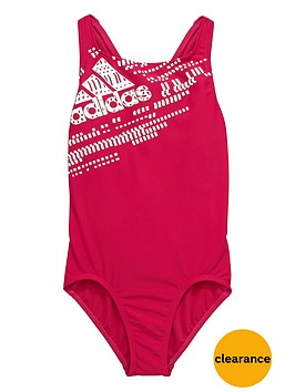 adidas-youth-girls-performance-logo-swimsuit