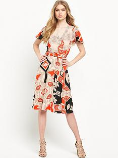 river-island-printed-d-ring-midi-dress