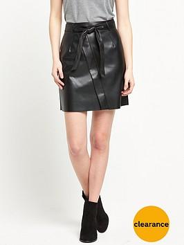 river-island-pu-wrap-mini-skirt