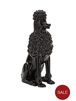 black-poodle-ornament