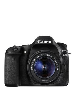canon-eos-80d-slr-camera-with-ef-s-18-55mm-lensnbsp-additional-lp-e6n-battery-case-amp-neck-strap