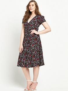 alice-you-v-neck-midi-dressnbsp