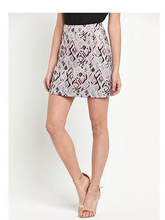 v-by-very-jacquard-a-line-mini-skirt