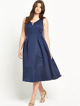 chi-chi-london-curve-v-neck-midi-prom-dress