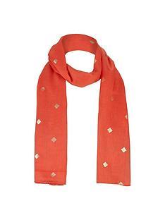 v-by-very-girls-foil-print-scarf