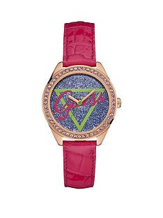 guess-guess-glitter-logo-dial-rose-gold-case-pink-leather-strap-ladies-watch