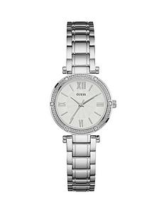 guess-guess-white-dial-stainless-steel-braclet-ladies-watch