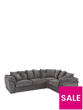 maze-fabric-and-faux-leather-right-hand-scatter-back-corner-group-sofa