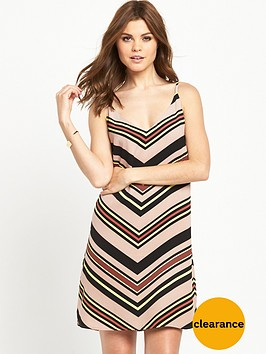 oasis-chevron-stripe-cami-dress