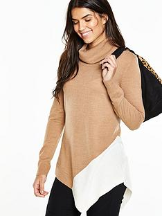 v-by-very-cowl-neck-asymmetric-colourblock-jumpernbsp