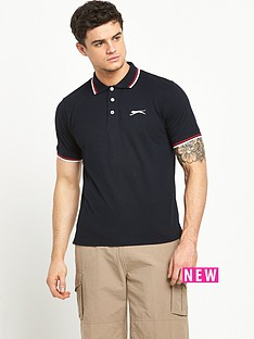 slazenger-tipped-polo