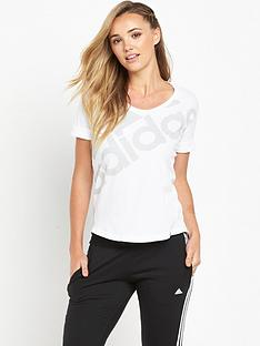 adidas-athletics-logo-t-shirt