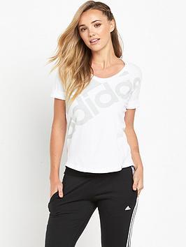 adidas-athletics-logo-t-shirtnbsp