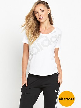 adidas-athletics-logo-t-shirtnbsp