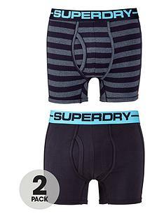 superdry-2pk-stripeplain-boxer