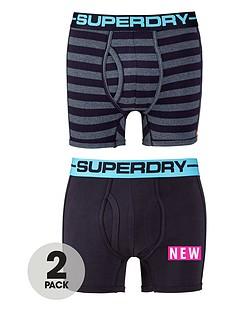 superdry-superdry-2pk-stripeplain-boxer