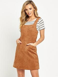 oasis-oasis-suedette-pinafore-dress