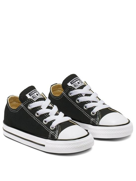 f56239bdf92 Converse Chuck Taylor All Star Ox Core Infant Trainer | very.co.uk