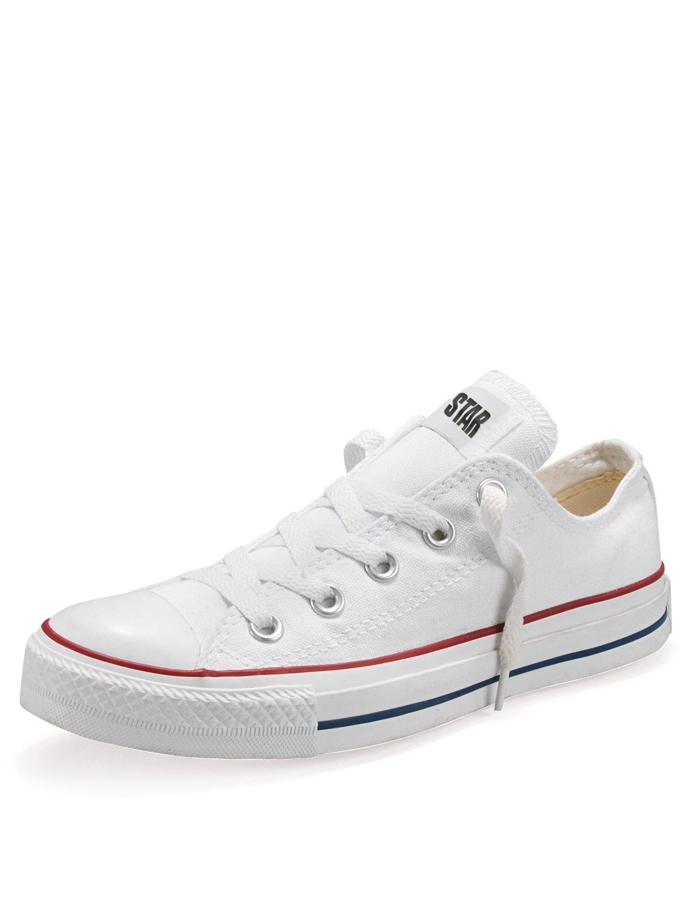 childrens white converse