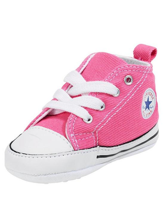 9aac83818903 Converse Chuck Taylor All Star First Star Hi Core Crib Trainer ...