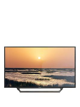 Sony Bravia Kdl40Wd653 40 Inch Full Hd Smart Tv With Freeview, Hdd Rec And Usb Playback - Black