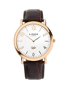 links-of-london-noble-rose-gold-plated-case-brown-leather-strap-unisex-watch